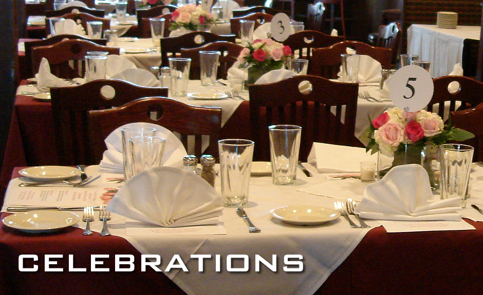 Special Occasions and Banquet Menu at Manhattan's in Carol Stream